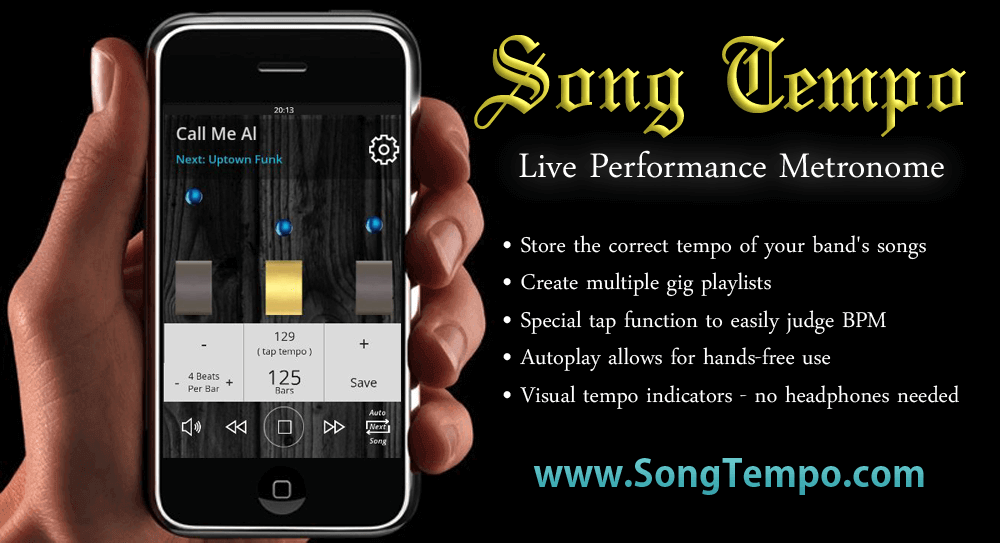 www SongTempo com | Get The Correct Tempo For Any Song